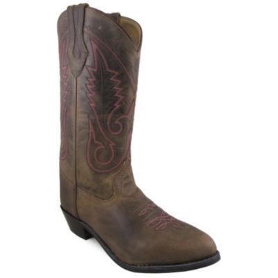 "Smoky Mountain Women's 12"" Crazy Horse Leather Cowboy Boot"