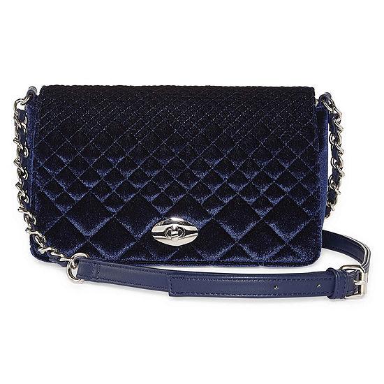 Latique Diamond Velvet Crossbody Bag