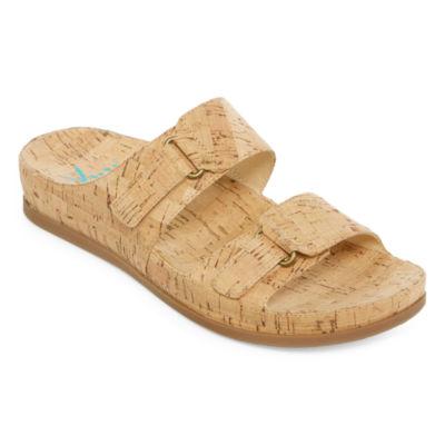 Yuu America Womens Slide Sandals