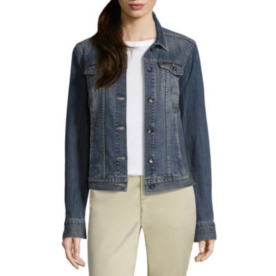 Liz Claiborne Denim Jacket - Tall