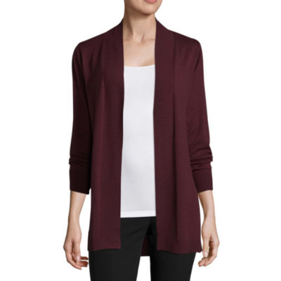 Worthington Long Sleeve Essential Cardigan - Tall