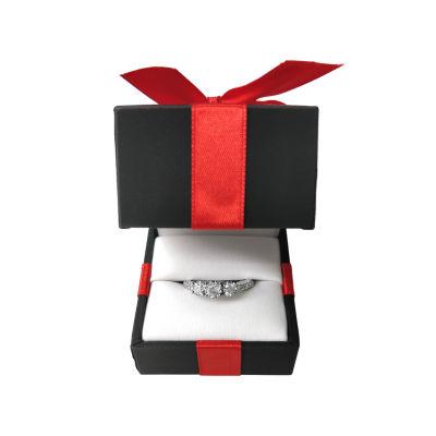 Womens 1 CT. T.W. Genuine Round Diamond 14K Gold Engagement Ring