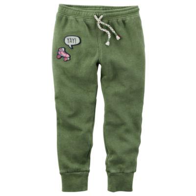 Carter's Knit Jogger Pants - Toddler Girls