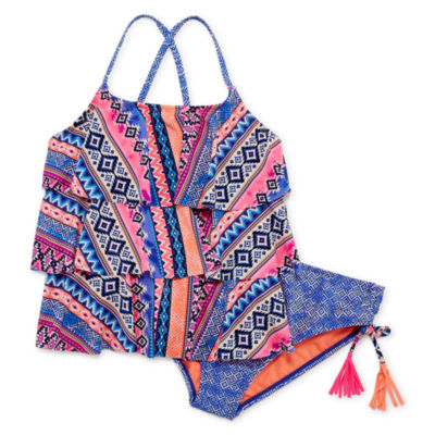 Arizona Girls Tankini Set - Big Kid Plus