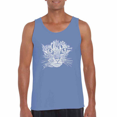 Los Angeles Pop Art Catface Tank Top