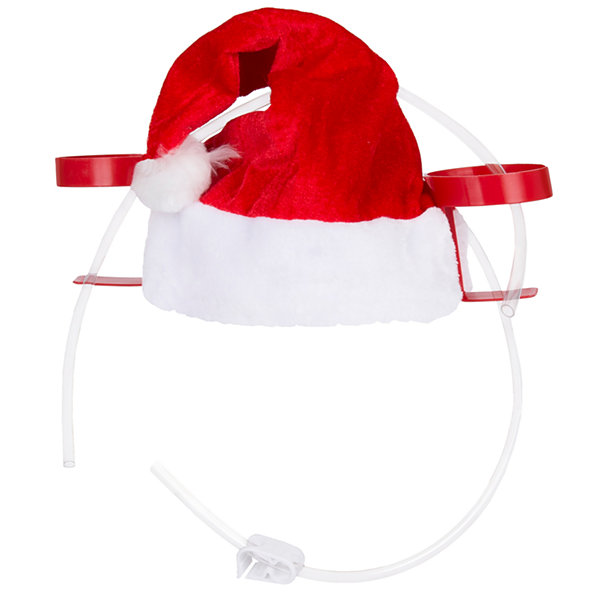 Wembley Santa Drinking Hat