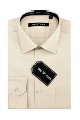 Verno Men's Classic Fit Dress Shirt
