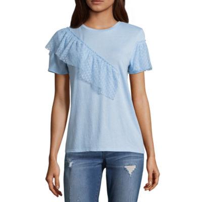 Arizona Ruffle T-Shirt- Juniors