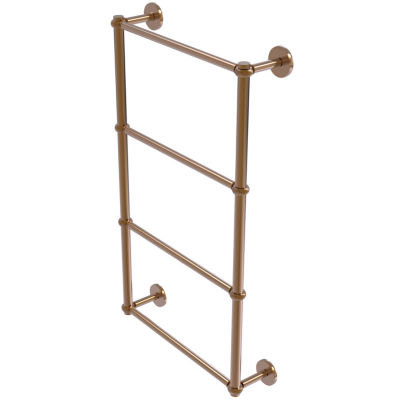 Allied Brass Prestige Skyline Collection 4 Tier 36Inch Ladder Towel Bar with Twisted Detail