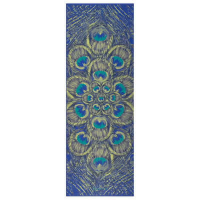 Gaiam Sapphire Feather Yoga Mat (6MM)