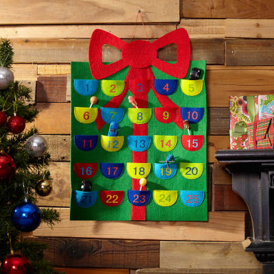 Bow Felt Advent Calendar