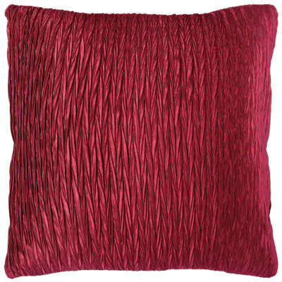 """Rizzy Home Solid Braid Square Throw Pillow - 18"""" x18"""""""