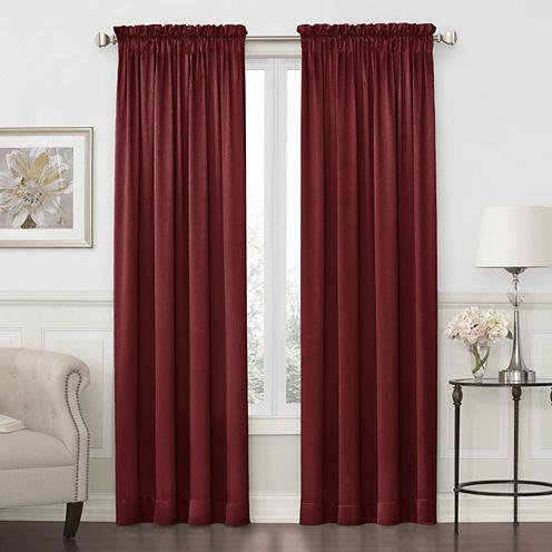 Royal VelvetR Hilton Rod Pocket Curtain Panel