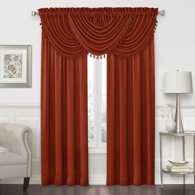 Hilton Rod-Pocket Waterfall Valance