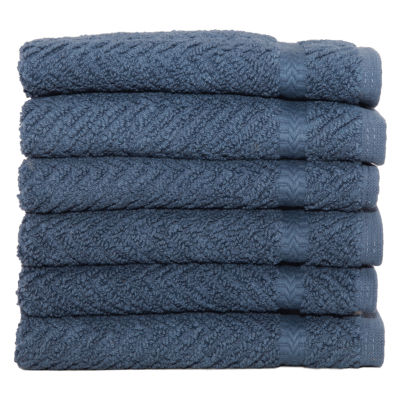 Linum Home Textiles Herringbone 6-pc Bath Towel SEt