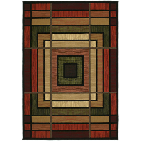 United Weavers Contours Collection Ambience Rectangular Rug
