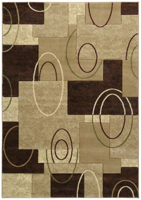 United Weavers Contours Collection Cha Cha Rectangular Rug