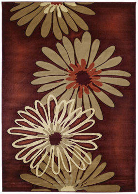 United Weavers Contours Collection Dahlia Rectangular Rug