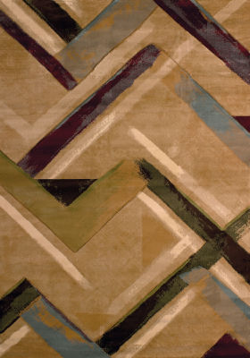 United Weavers Contours Collection Diesel Rectangular Rug