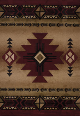 United Weavers Contours Collection Flagstaff Rectangular Rug