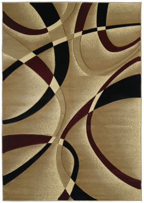 Contours Collection La-Chic Rectangular Rug