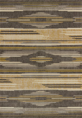 United Weavers Contours Collection Native Chic Rectangular Rug