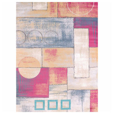 United Weavers Modern Textures Collection Abstract Rectangular Rug