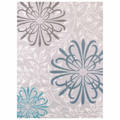 United Weavers Modern Textures Collection Duvet Rectangular Rug