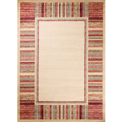 Concord Global Trading Soho Collection Border AreaRug