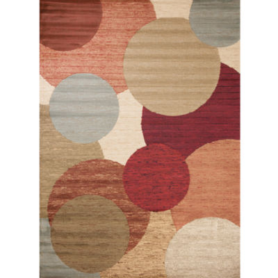 Concord Global Trading Soho Collection Rounds Multi Area Rug
