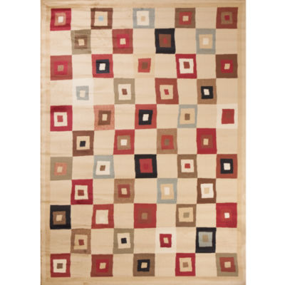 Concord Global Trading Soho Collection Village Square Area Rug