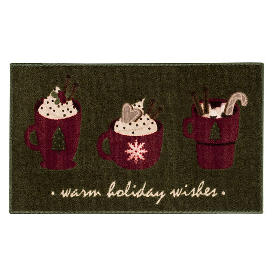 Brumlow Holiday Wish Printed Rectangular Indoor Rugs