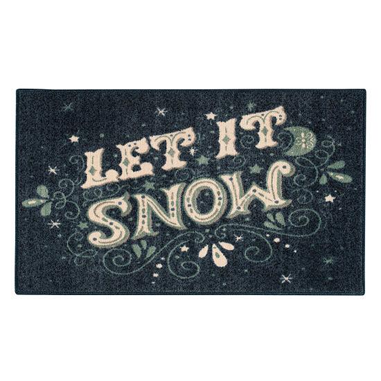 Brumlow Snow Printed Rectangular Indoor Rugs