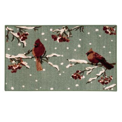 Brumlow Cardinals Printed Rectangular Indoor Rugs