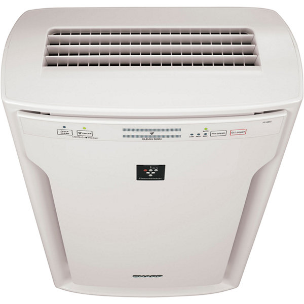Dual-Action Plasmacluster Air Purifier with HEPA Filter