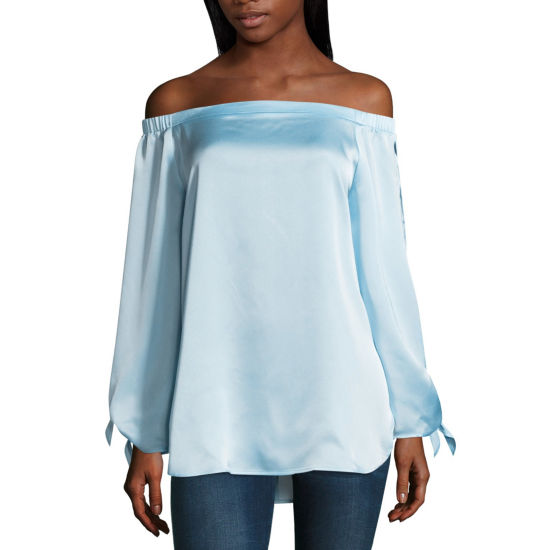 Belle + Sky Off The Shoulder Top