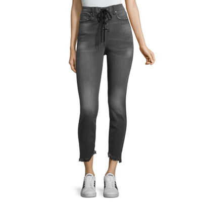 Project Runway Front Lace-Up Jeans