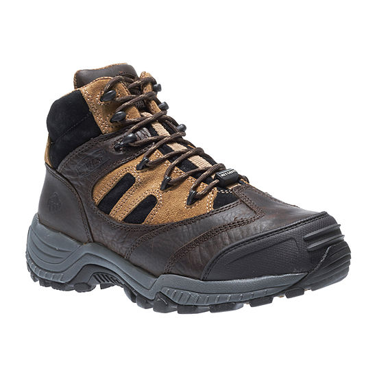 Wolverine Mens Kingmont Slip Resistant Composite Toe  Lace-up Work Boots