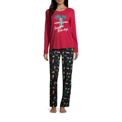 North Pole Trading Co. Knit Pant Pajama Set- Talls