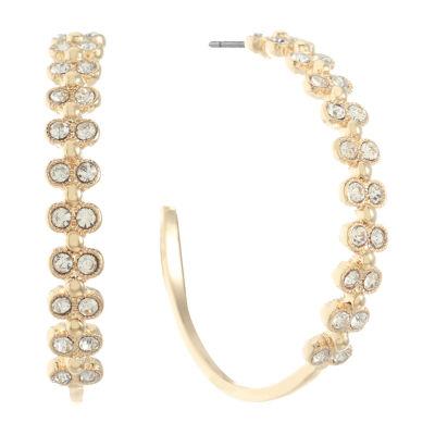 Monet Jewelry 45.5mm Hoop Earrings