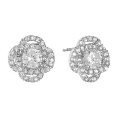 Monet Jewelry Cubic Zirconia 10mm Stud Earrings