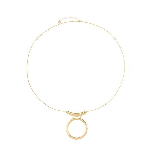 Liz Claiborne 36 Inch Snake Pendant Necklace