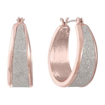 Liz Claiborne 22mm Hoop Earrings