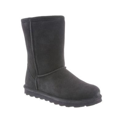 Bearpaw Womens Elle Winter Boots Flat Heel Pull-on