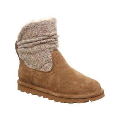 Bearpaw Womens Virginia Winter Boots Flat Heel Pull-on