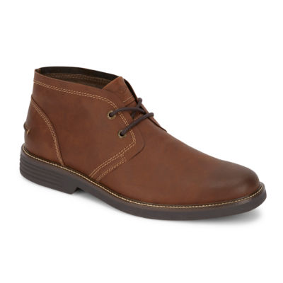 Dockers Mens Landis Chukka Boots Flat Heel Lace-up