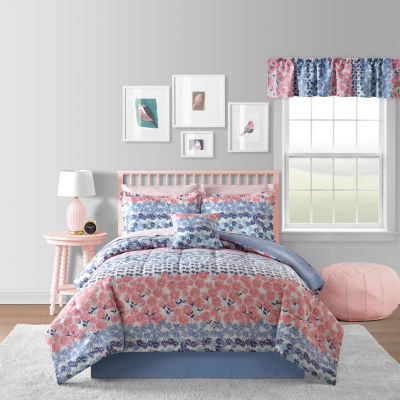 Daisy Floral Complete Bedding Set with Sheets