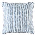Flash Square Throw Pillow