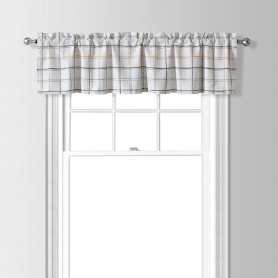 Flash Rod-Pocket Tailored Valance