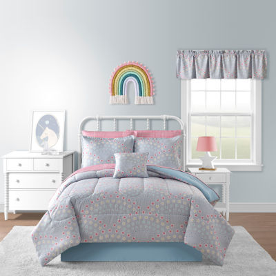 Rainbow Stars Complete Bedding Set with Sheets